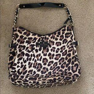 Kate spade leopard print purse